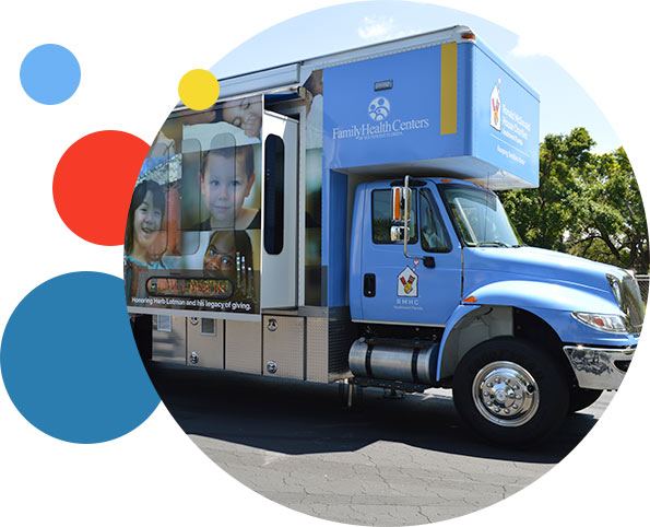 Exterior Picture of Ronald McDonald Care Mobile