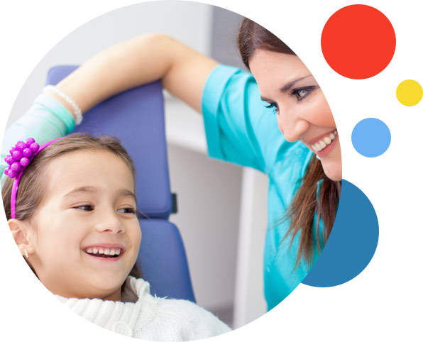 Dental Services - Picture of young girl in dental chair